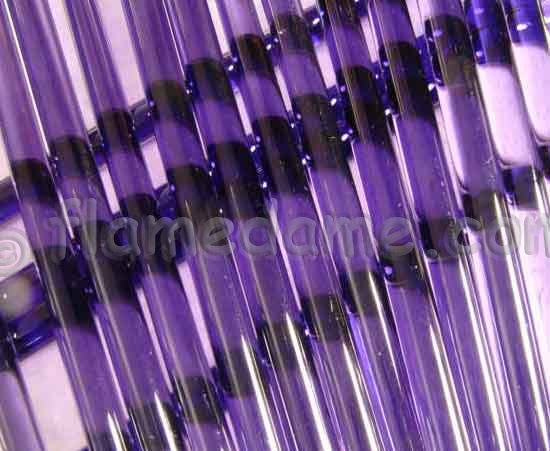 Lauscha DARK PURPLE (Dark Blue Violet) 8 to 10 mm - Click Image to Close